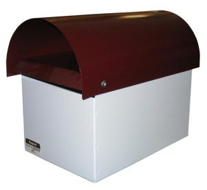 Curve Top Metal Letterbox-1
