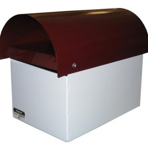 Curve Top Metal Letterbox-1