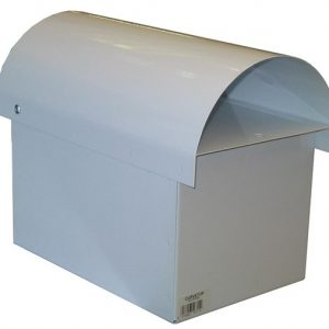 Curve Top Metal Letterbox-2