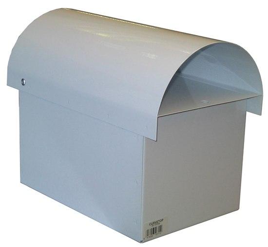 Curve Top Metal Letterbox-2
