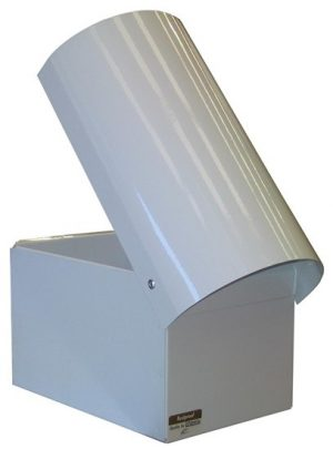 Curve Top Metal Letterbox-3