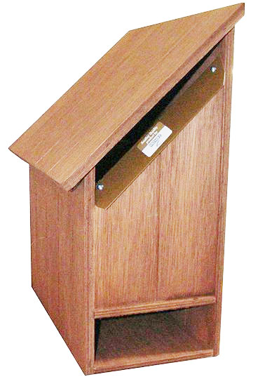 Florida Left Hand Hardwood Letterbox