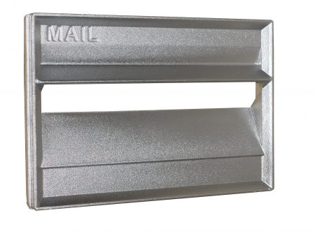 Cast Aluminium Brick Insert - Aluminium Finish - 230