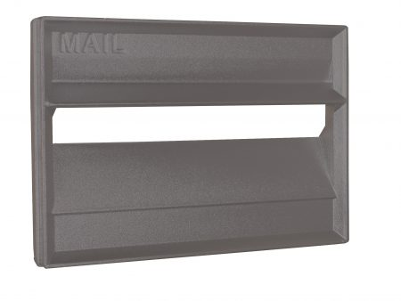 Cast Aluminium Brick Insert Front - Powder Coated - 230