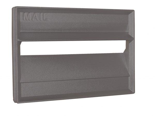 Cast Aluminium Brick Insert Front - Powder Coated - 230