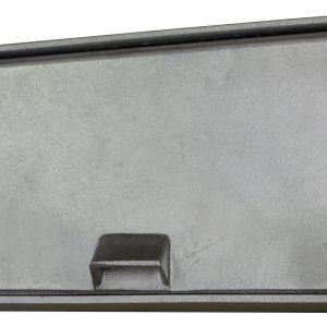 Cast Aluminium Brick Insert Back - 345 Closed