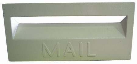 Cast Aluminium Brick Insert Front - Powder Coated- 345