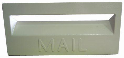 Cast Aluminium Brick Insert Front - Powder Coated- 345