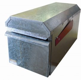 Small Square Rural – Galvanised Finish Closed