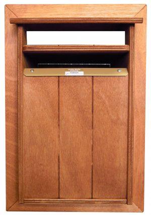 Washington – Hardwood Letterbox Front