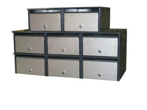 Apartment Letterbox Bank Front Opening 3 x 2 plus 2