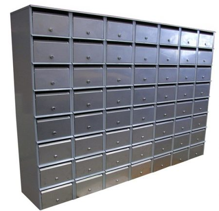 Apartment Letterbox Bank Front Opening 7 x 8