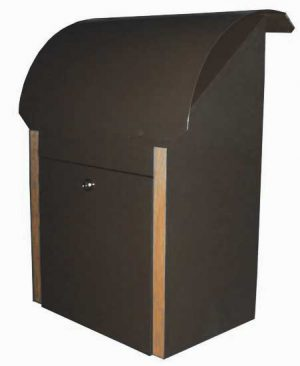 Clearance rear opening Security Box Ironsand